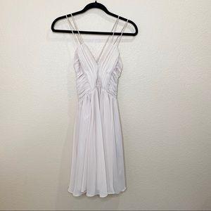 H&M Mini Beige Dress Size 8